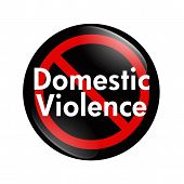 No Domestic Violence Button