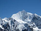 Beautiful Mountain In The Himalayas
