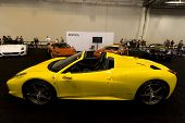 Yellow Ferrari Spider