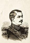 Portrait von Michael iv., König von Serbien. Illustration von Alwin Zschiesche, veröffentlicht auf