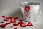 Hearts In A Bucket