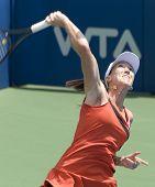 Jelena Jankovic return ball