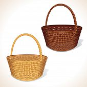 image of baste  - Isolated Vector Basket - JPG