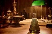 Antique Science And Chemistry Research Laboratory