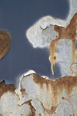 Abstract Corrosion Detail