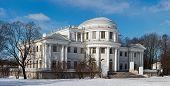 picture of sankt-peterburg  - Yelagin palace in winter day Sankt - JPG