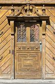 Old Door In Hungary