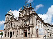 stock photo of carmelite  - Two portuguese churches in Porto - JPG