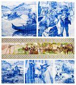 Arte portugués azulejos