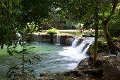 Deep Forest Waterfall In Saraburi, Thailand