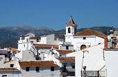 Aldea blanca, Sayalonga, Andalucía, España.