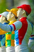 Statues of Jockeys