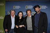PASADENA - JAN 3: Graham Beckel, Geraldine Hughes, Jesse Johnson, Billy Campbell of the show 'Killin