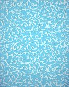 Blue pattern, bitmap copy