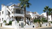 image of urbanisation  - Mediterranean white livving house in Spain Costa blanca Villamartin - JPG