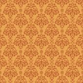 Seamless Warm Damask