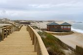 Boardwalk In Praia Barra