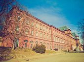 Retro Look Castello Del Valentino, Turin, Italy