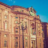 Retro Look Palazzo Carignano Turin