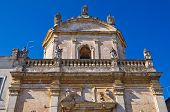 Church of Madonna del Carmine. Manduria. Puglia. Italy.