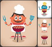 Barbecue character