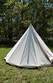 Vintage White Tent.