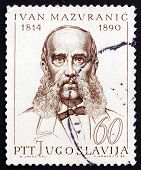 Postage Stamp Yugoslavia 1965 Ivan Mazuranic, Politician And Writer