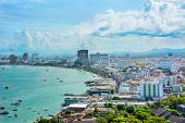 Beautiful Gulf Landscape Of Pattaya, Thailand