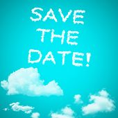 Save The Date Cloud