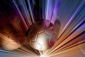 Glass Cut Soccer
