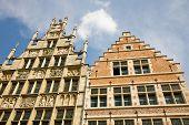 Medieval Houses, Ghent, Belgium