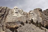 stock photo of abraham  - Mount Rushmore National Memorial - JPG