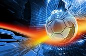 Football Action Background