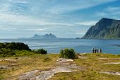 End of the road in Lofoten