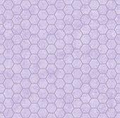 Purple Honey Comb Shape Fabric Background