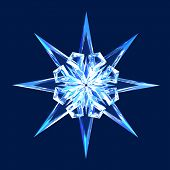 Isolated Diamond Star
