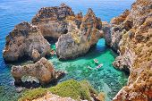Rocks In Algrave, Portugal