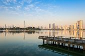 Beautiful Lake In Nanjing