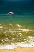 Free flight near the sea