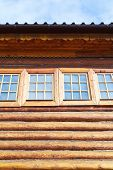Windows Of Wood Log House