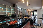 Kitchen With Bar Counter