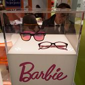 Barbie Glasses On Display At Mido 2014 In Milan, Italy
