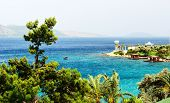 The Beach At Turkish Resort, Bodrum, Turkey