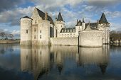 Castle Of Sully-sur-loire, Loiret, France