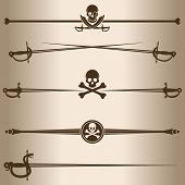 picture of rapier  - Elements for design  - JPG
