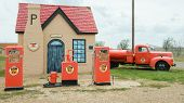 Route 66: Historic Phillips 66 Gas Station, McLean, TX