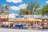 Route 66: Delgadillo's Snow Cap Diner, Seligman, AZ