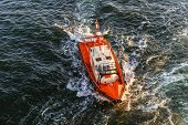 Coast Guard Lifeboat.
