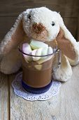 Cocoa Drink With Sweet Paste