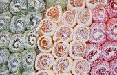 Colorful Traditional Turkish Delights